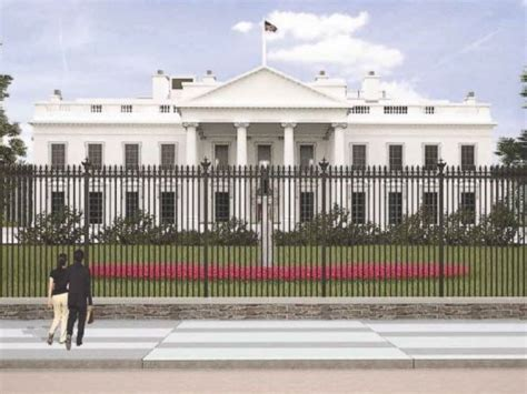 white house fence white house fence re design proposal unveiled by secret service and national park