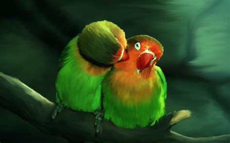 wallpaper green love 18 beautiful birds desktop wallpapers