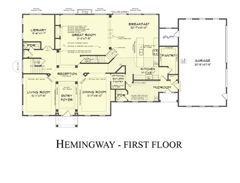 arundel castle floor plan the hemingway model by castle rock builders