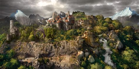Curriculum Vitae Letter by Medieval Landscape