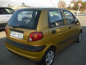 Gold Daewoo Matiz Daewoo Matiz Used Car Costa Blanca Spain Second
