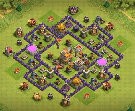 update layout coc top 40 best town hall 7 war farming hybrid trophy base
