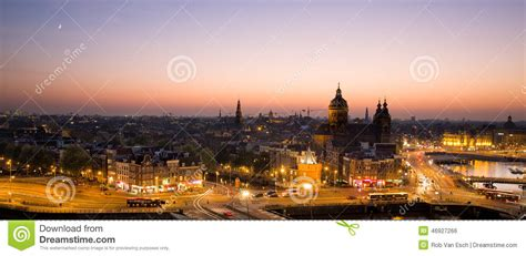City Light Capital by Panorama Amsterdam Stock Photo Image Of Architectural