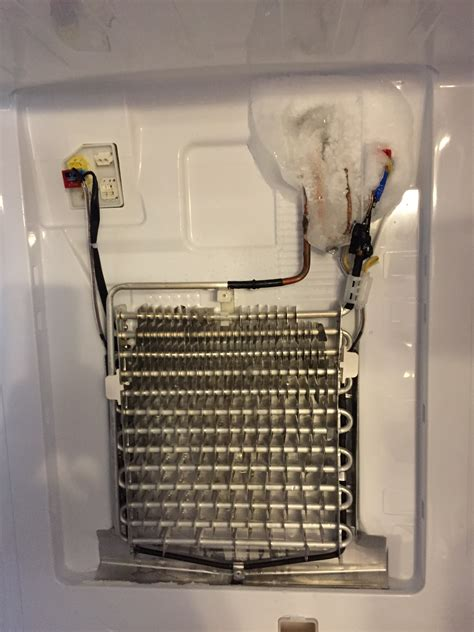 whirlpool refrigerator evaporator fan not working solved evaporator fan freezing rf263beaesr door re