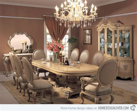 Traditional Dining Table Designs 20 Traditional Dining Room Designs Home Design Lover