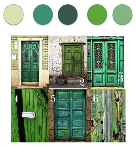 feng shui color for front door color story green doors feng shui and energy color