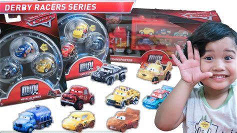 Cars Mini Racers Smokey new 2018 cars 3 mini racers thunder hollow derby racers faregame fishtail metallic racers