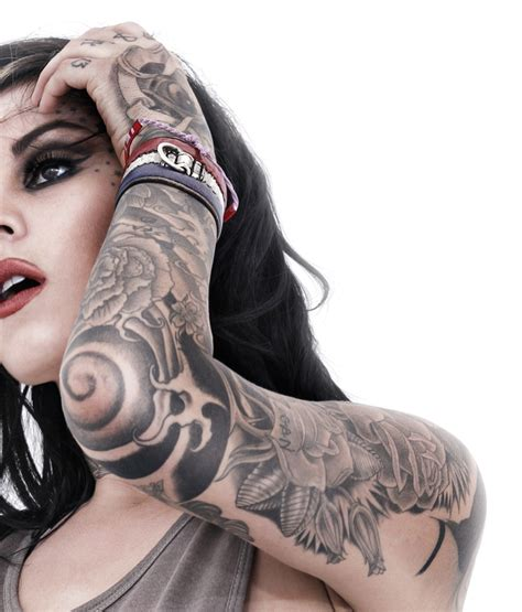 kat von d tattoos pictures images pics photos of her tattoos