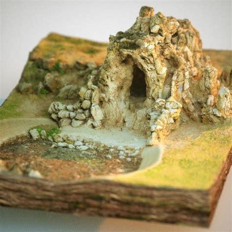 rock cave  model  printable cgtradercom