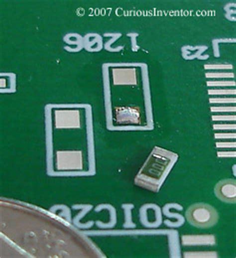 smd resistor how to solder soldering surface mount resistors