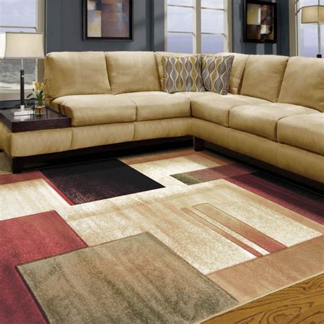 How To Use Area Rugs | choose contemporary area rugs for your room traba homes
