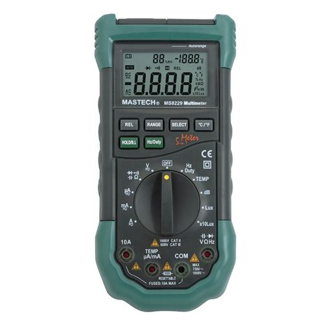 Multimeter Digital Mastech mastech ms8229 5 in 1 digital multimeter review multimeter master