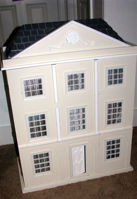 pottery barn doll house rare retired pottery barn dollhouse with pottery barn furnishings per