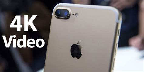 how to record 4k with iphone 6s 6s plus 7 or 7 plus