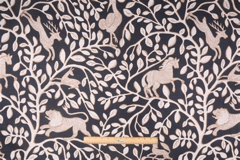 robert allen drapery fabric robert allen pantheon printed cotton drapery fabric in admiral