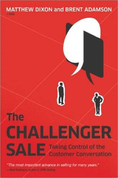 book review the challenger sale thor projects