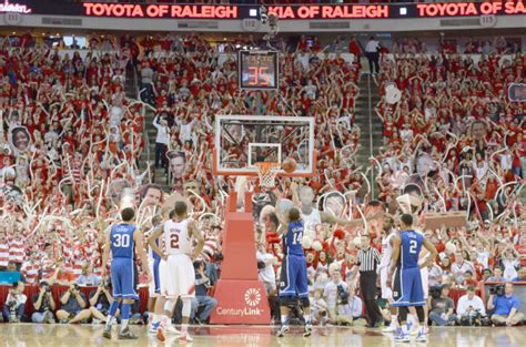 Duke Student Section by Hype Team Leads Student Section Team To Success Sports