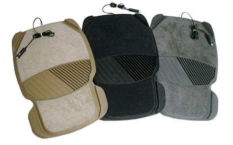 the heated car mat from martinson nicholls warms and