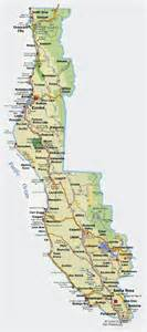 map of n california coast where 2havefun coast california maps hotels