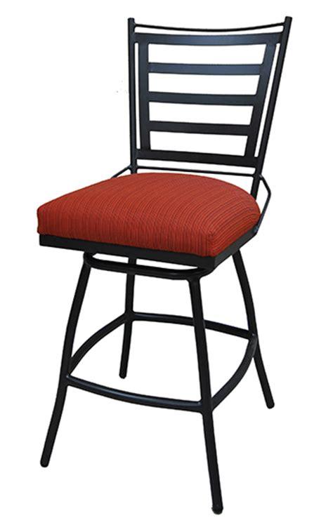 alfa bar stools 34 inch outdoor jenna swivel bar stool cushion backrest alfa barstools