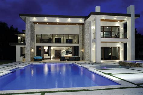 idea home design miami hollywood waterfront contemporary pool other metro