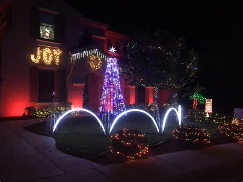 phoenix christmas light displays viewers share their