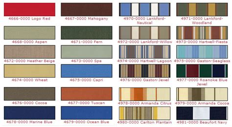 Awning Colors by Fabric Choices Southeast Awnings