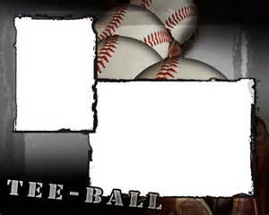 tee ball photo templates