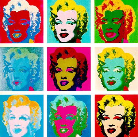 warhol prints pop