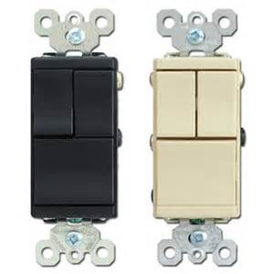 pass seymour 3 single pole combination rocker switches