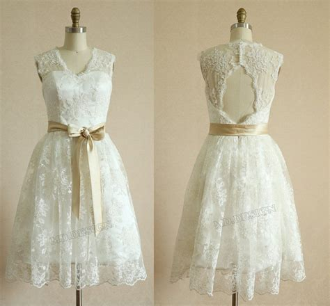 ebay vintage vintage inspired lace tulle short tea length wedding dress