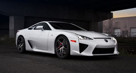 lexus lfa custom lexus lfa rides on custom pur wheels