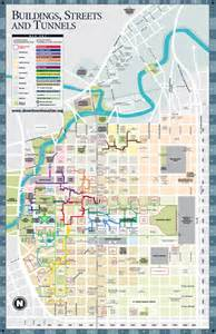 map of downtown houston downtown houston tunnels map fabulous houston