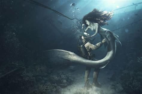 real mermaid wallpaper wallpapertag