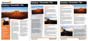 how to design a newsletter template in word word templates melbourne officentral