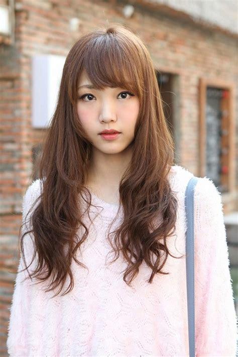 kpop 2014 hairstyles kpop girl hairstyles curly hair bangs