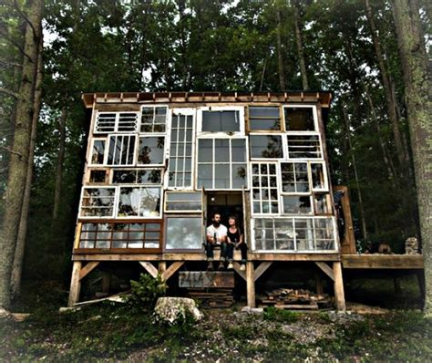 eco cabin eclectic glass cabin in west virginia