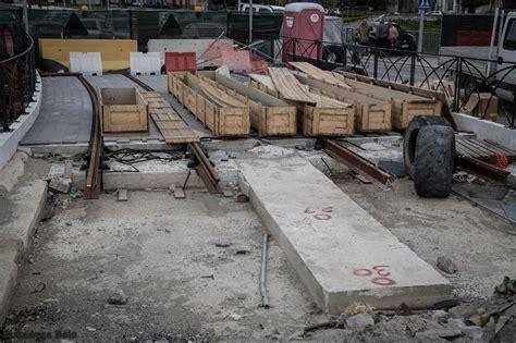 mobilita palermo lavoro foto inaugurato il nuovo ponte tranviario sull oreto