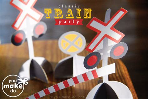 printable train party decorations make a classic train birthday party you make do