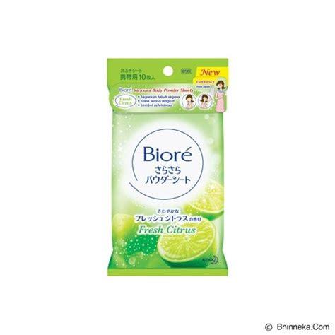 biore sabun mandi antiseptik jual biore sarasara powder sheets fresh citrus