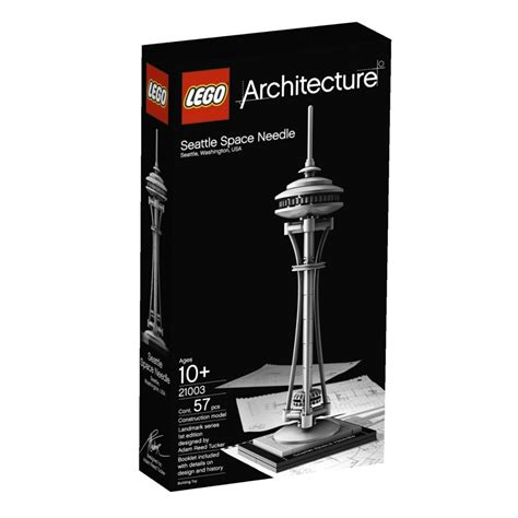 Lego Bricks Architect 7099 3105 lego architecture 21003 seattle space needle