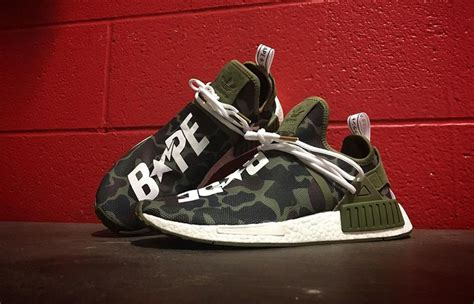 Adidas Nmd Bape Japan X Ultra Boost Kith Aspen Pack adidas nmd xr1 x bape custom by mache in sneakers