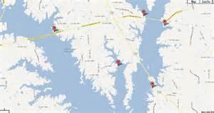 map of lake fork lake fork map