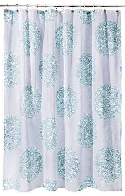 curtains ideas 187 medallion shower curtain inspiring - Shower Curtain