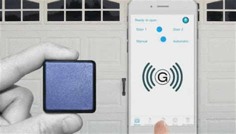 Garage Door Opener Via Phone Garage Beacon 2 0 Your Smartphone As Your Garage Door