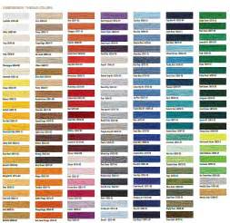 thread colors machine embroidery thread conversion chart 2017 2018