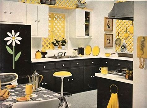 white and yellow kitchen ideas my kitchen i ve got the yellow walls black white