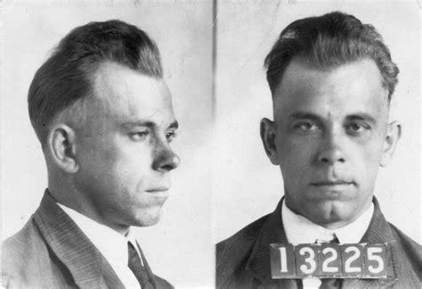 Tshirt Gangster Dillinger dillinger bank robber criminal mugshot t shirt ebay