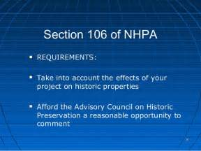 nhpa section 106 evironmental review hud 24 cfr part 58
