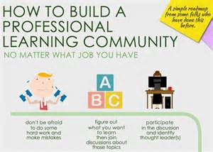 How to build a professional learning community no matter what job you
